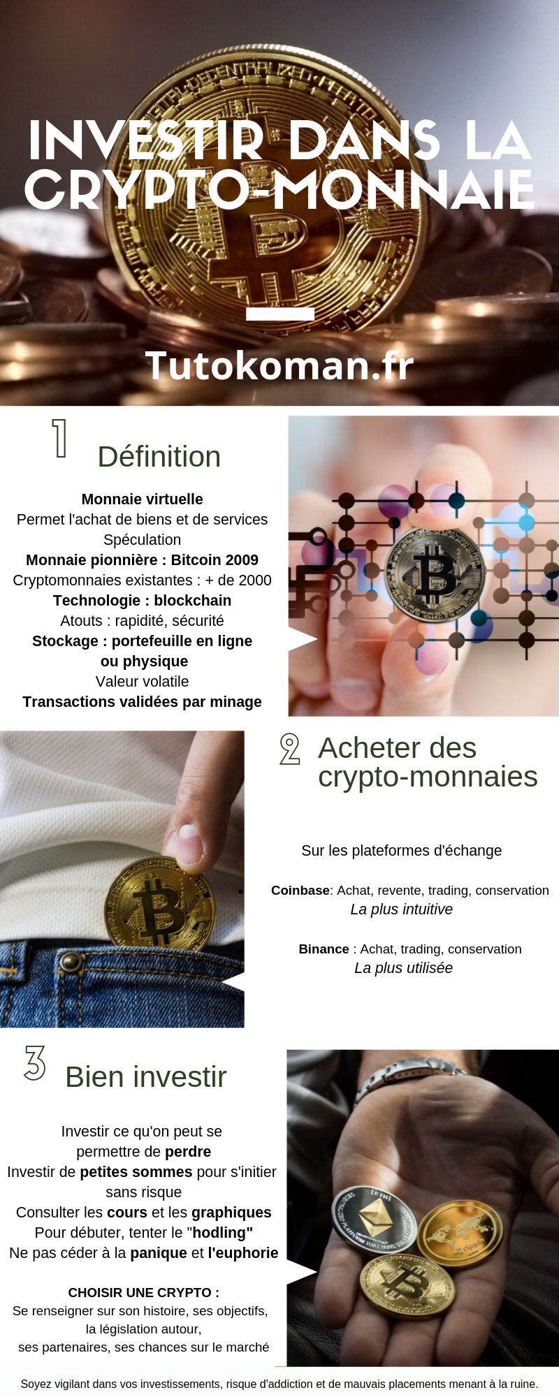 infographie crypto-monnaie